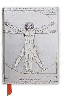 Da Vinci's Vitruvian Man (Foiled Journal) (Flame Tree Notebooks)