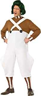 Rubie's Men's Willy Wonka and the Chocolate Factory Deluxe Oompa Loompa Costume