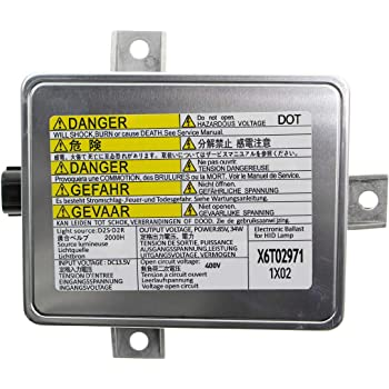 Updated X6T02971 Xenon HID Ballast Headlight Control Unit Assembly Module for W3T10471 X6T02981 6 Year Warranty Fit for 2002-2005 Acura TL /& 2004-2005 Acura TSX /& 2004-2009 Honda S2000 /& Mazda 3 Aupoko