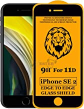 Xester Screen Protector for Apple iPhone SE 2(2020),Tempered Glass Edge to Edge Full Screen Coverage with Easy installaition kit -[1 Pack]
