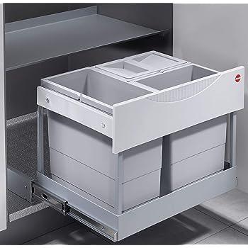 Küchen Mülleimer, Ausfahrautomatik, Einbau ab 40 |