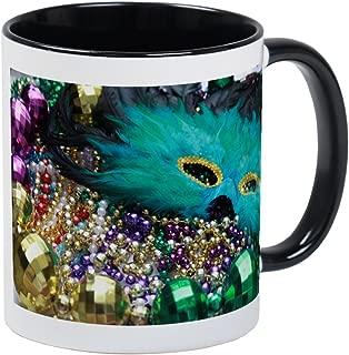 CafePress Carnival Spirit Of Mardi Gras Mugs Unique Coffee Mug, Coffee Cup