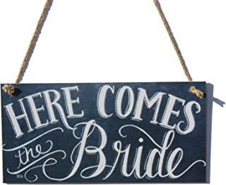 Meijiafei Here ComesThe Bride Chalk Sign