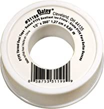 Oatey 31199 PTFE Tape, 1/2-Inch x 260-Inch