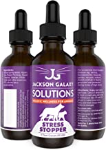 Jackson Galaxy: Stress Stopper (2 oz.) - Pet Solution - Promotes Sense of Safety During Short-Term Stress - Can Keep Pet Calm and Grounded - All-Natural Formula - Reiki Energy
