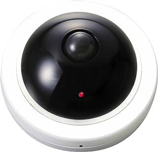 防滴 屋外 OK! 防犯 ダミー カメラ にもなる 人感 センサー LED ライト