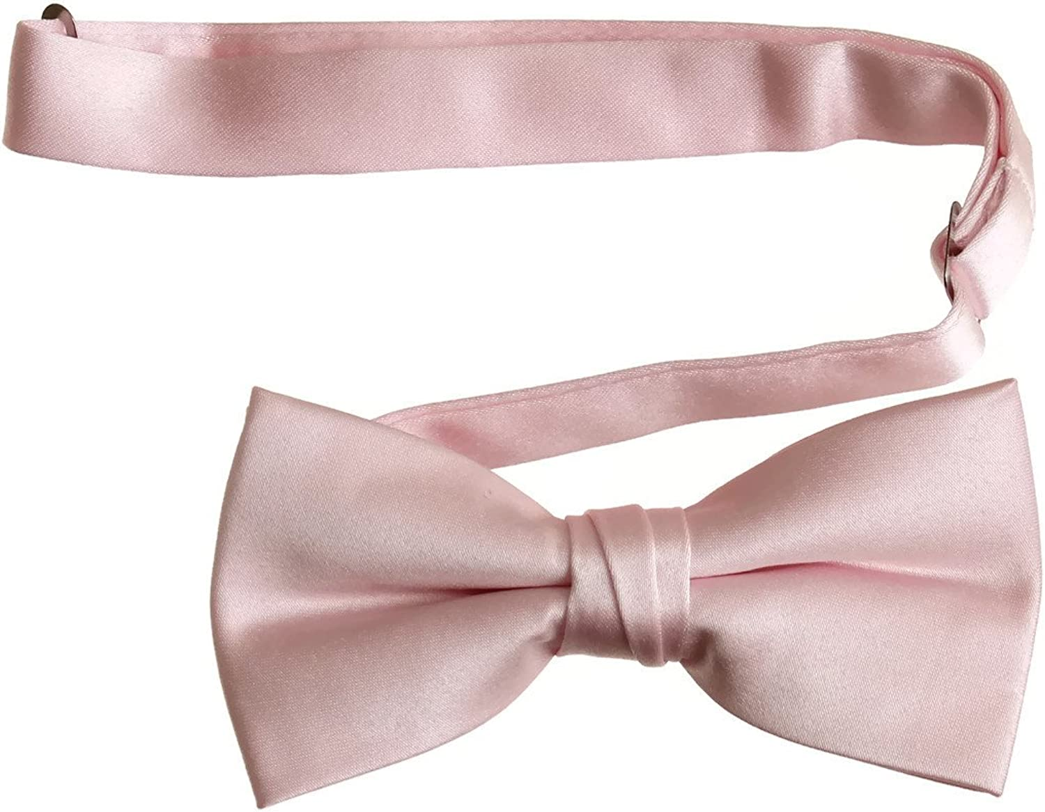 Pre Tied Bow Tie with Adjustable Neck Strap (Adults, Peach)