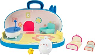 Molang L66032 Home Playset with Figures, Multicoloured