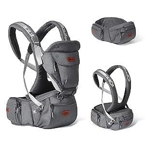 Sunveno Baby Hip seat Ergonomic Baby Carrier