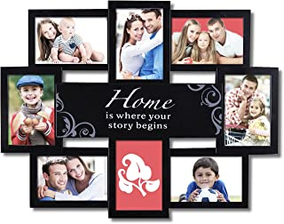 home is where our story begins picture frame
