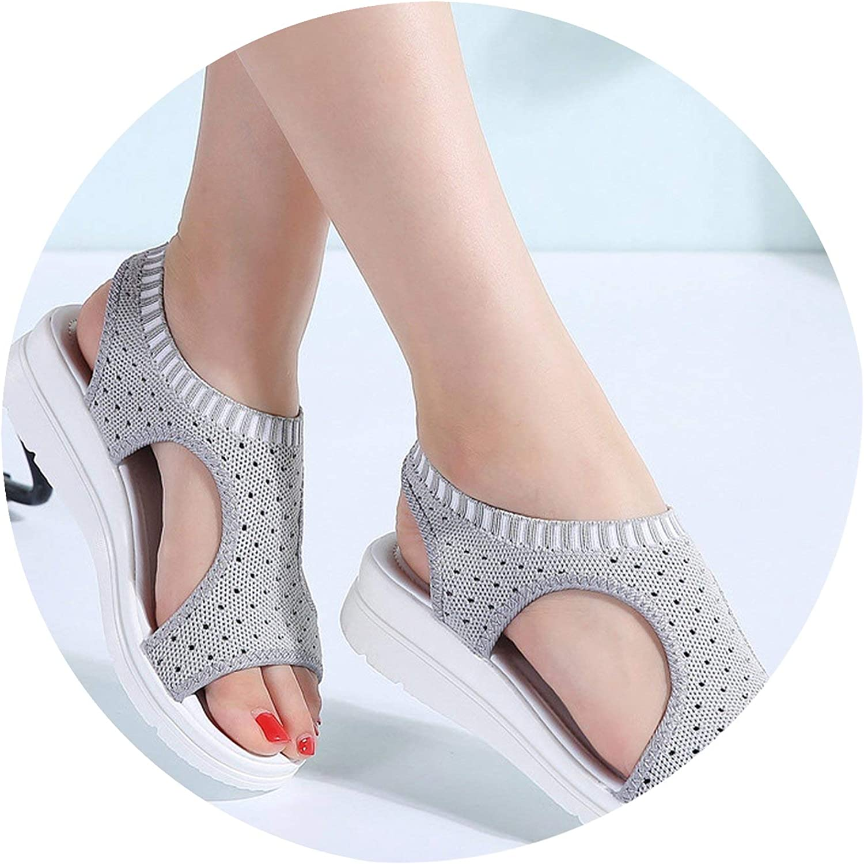Women Sandals shoes Woman Summer Wedge Comfortable Sandals Slip-On Flat Sandals Women Sandalias