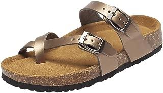 Women's Casual Cork Sole Slide Sandals
