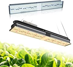 MARS HYDRO SP 150 Led Grow Light Sunlike Full Spectrum Grow Lamps for Indoor Plants Veg and Flower Bloom Hydroponic LED Growing Lights Fixtures for Greenhouse 2ft Four for 4x4 Coverage