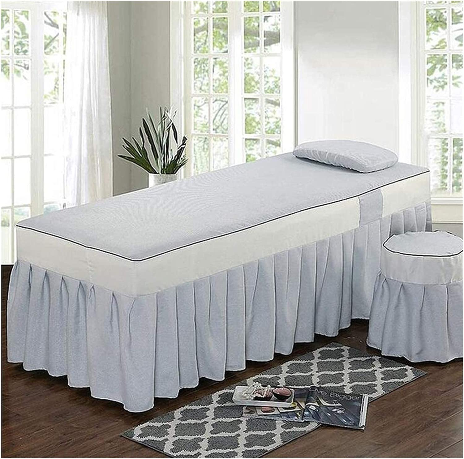 ZHANGYN Massage Table Sheet Sets Spa Bed OFFicial site Beauty Colo Cover Pure Max 72% OFF