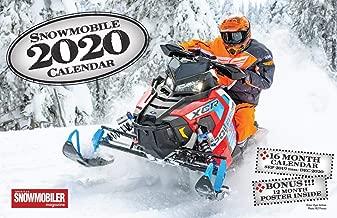 2020 Snowmobile Deluxe Wall Calendar