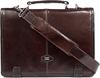 high end leather laptop bags