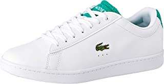 Lacoste Carnaby EVO 119 4 Fashion Shoes, WHT/GRN