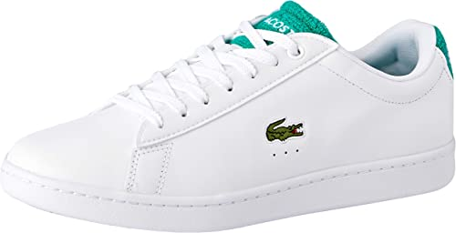 Lacoste Carnaby Evo 119 4 SMA WHT GRN, paniers Homme
