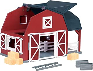 Terra by Battat – Wooden Animal Barn – Toy Barn Farm Toys Playset for Kids 3+ (20 pc)