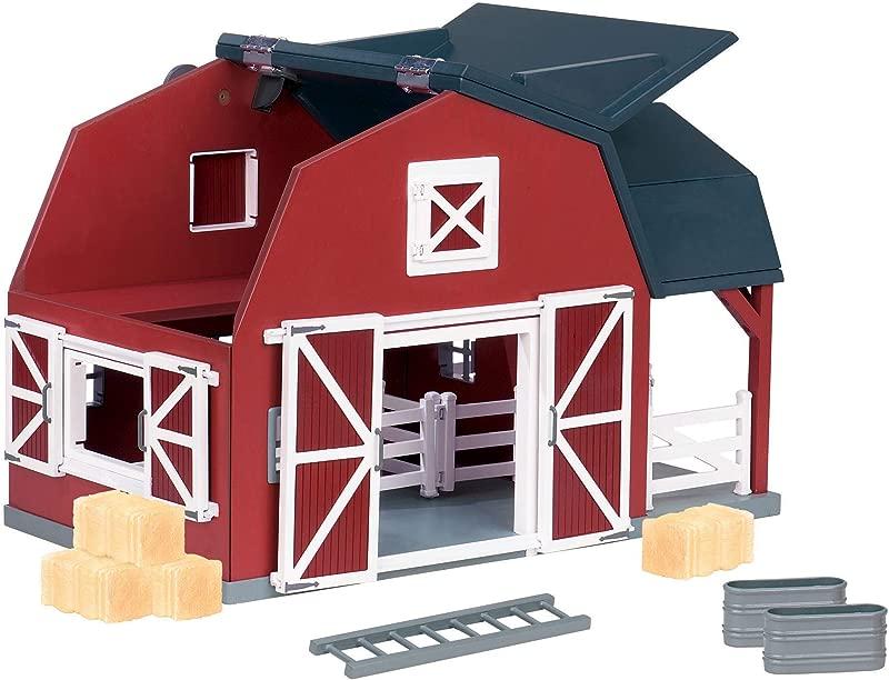 Terra By Battat Wooden Animal Barn Toy Barn Farm Toys Playset For Kids 3 20 Pc