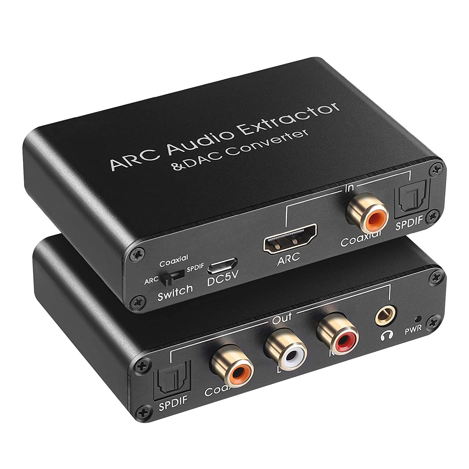 Regular dealer HDMI ARC Special price for a limited time Audio Extractor 192KHz Extracto DAC Converter