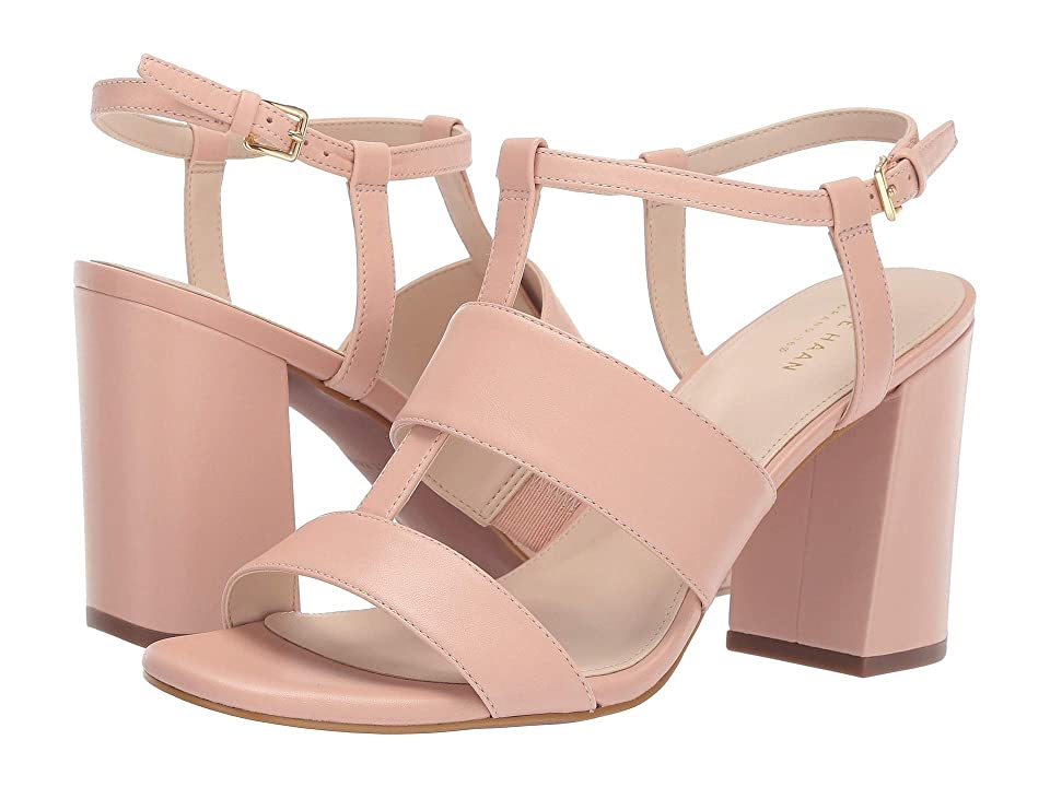 Cole Haan Cherie Grand Block Sandal (Mahogany Rose) Women