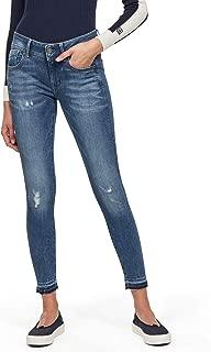 G-STAR RAW Damen Lynn Mid Waist Skinny Ripped Jeans