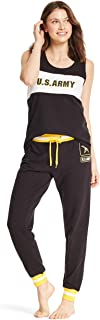 Womens 2 Piece Lounge Shirt Elastic Waist Pajama Yoga Sweatpants