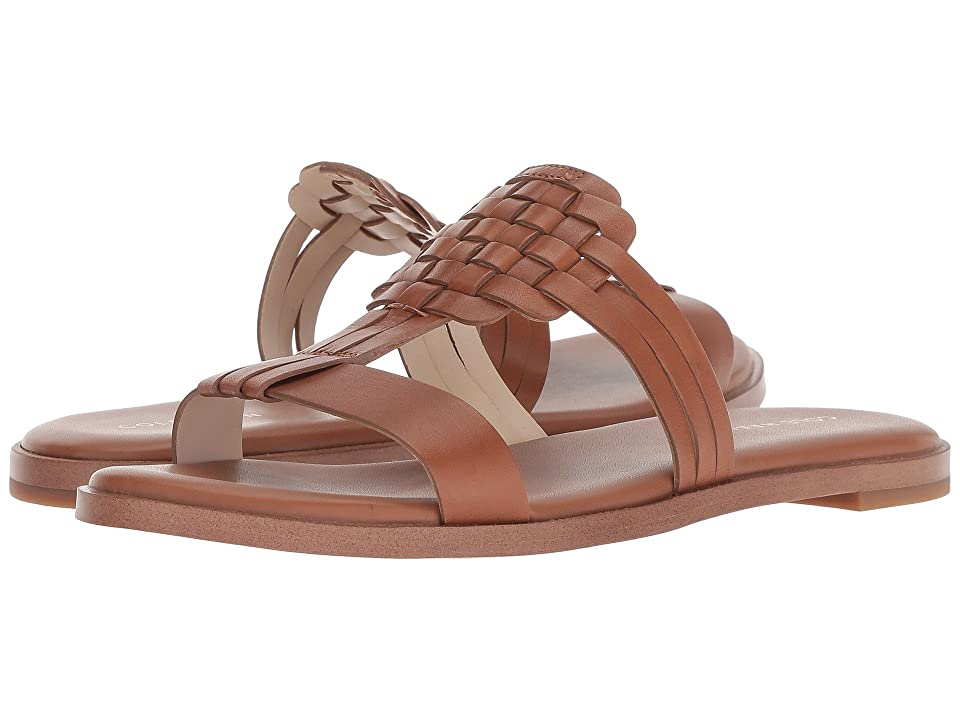 Cole Haan Findra Woven Sandal (British Tan) Women