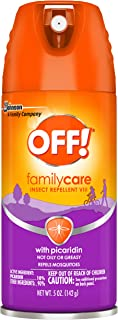 OFF! Family Care Insect Repellent VIII with 10% Picaridin, Aerosol, 5oz