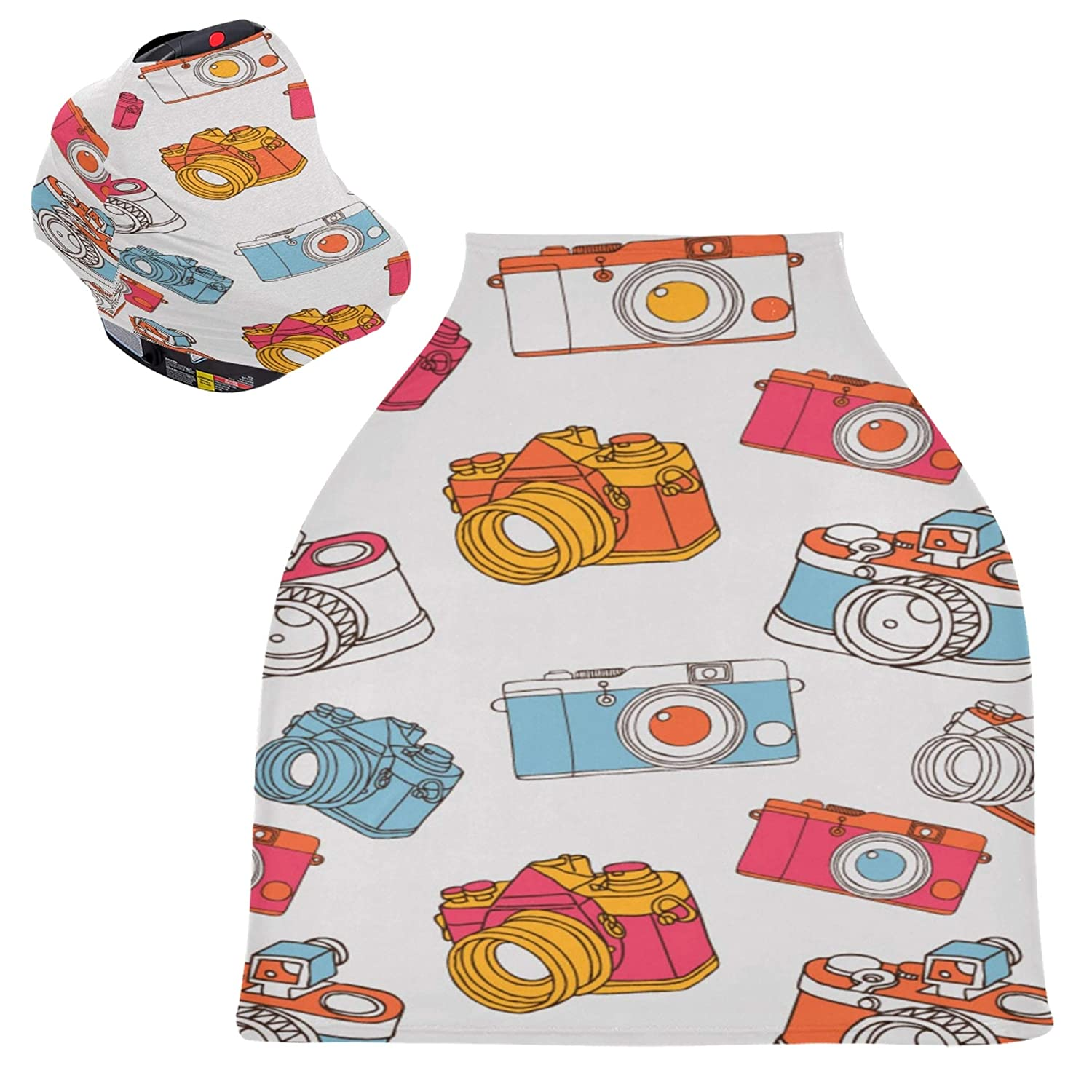 Ranking Quality inspection TOP4 Shopping Cart Covers for Baby Boy Kawaii Camera Colorful Small F