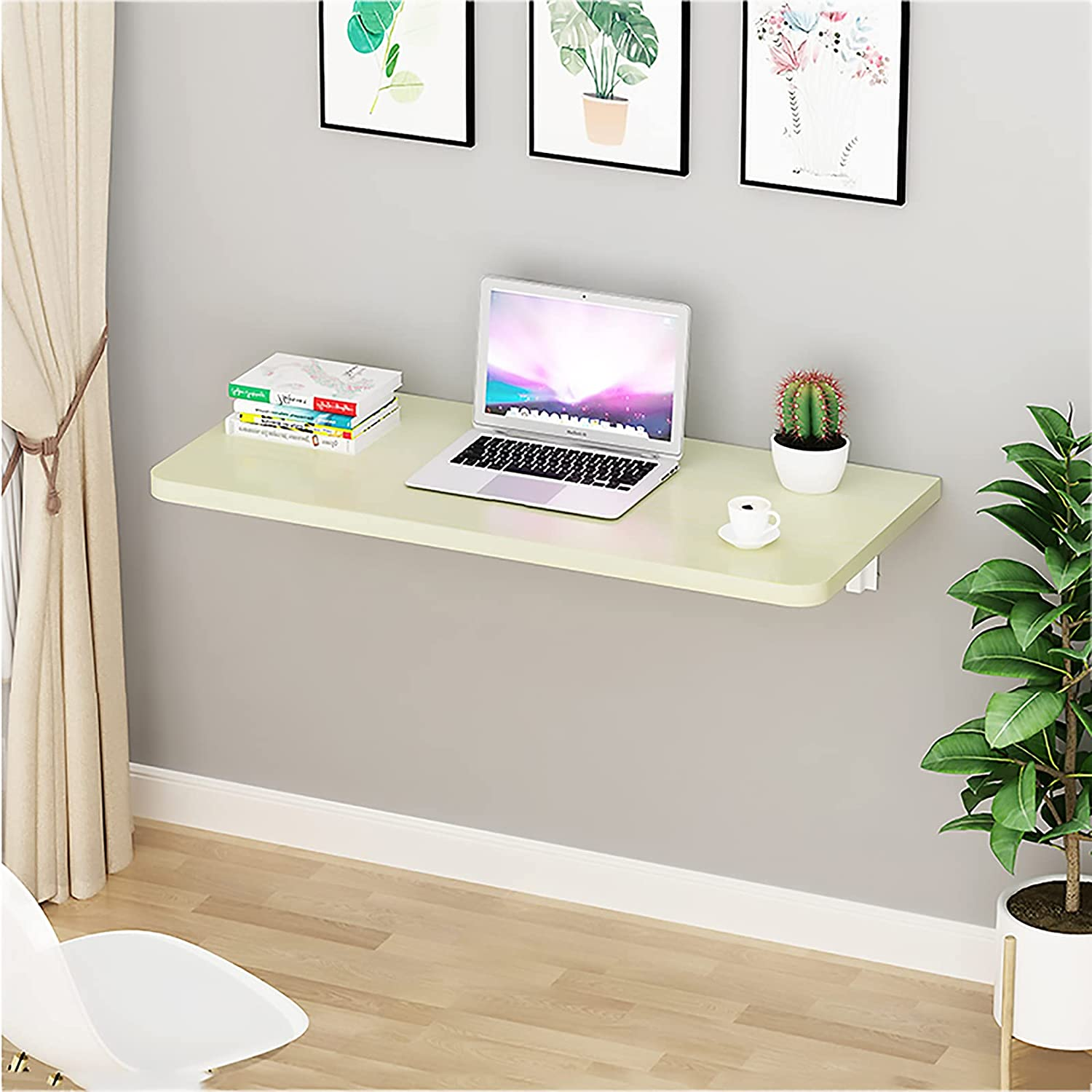 YLSS Wall Under blast sales Mounted Folding San Diego Mall Desk Table Floating