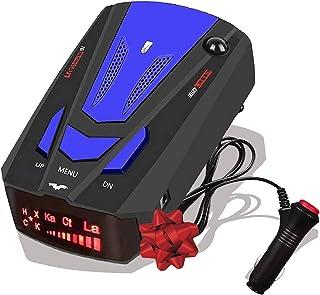Radar Detector for Cars,Laser Radar Detectors, Voice Prompt Speed, Vehicle Speed Alarm System, Led Display, City/Highway M...