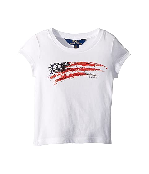 Polo Ralph Lauren Kids Cotton Jersey Graphic T-Shirt (Toddler) at 6pm b1fe71470