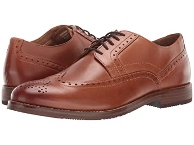Nunn Bush Middleton Wing Tip Oxford (Cognac) Men