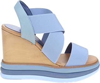 PALOMA BARCELÓ Luxury Fashion Womens FILIPINASSKY Light Blue Wedges | Spring Summer 20