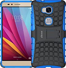 ykooe Honor 5X Case, sturdier Shockproof Phone Protection Case Dual Layer Protective Kickstand Shell for Honor 5X
