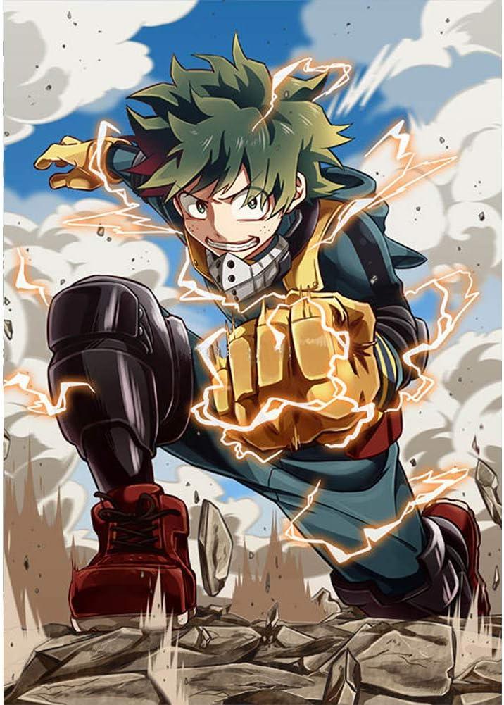Apehuyuan My Hero Academia Izuku Online limited product Wall Cheap mail order sales Poster Midoriya Deku Anime