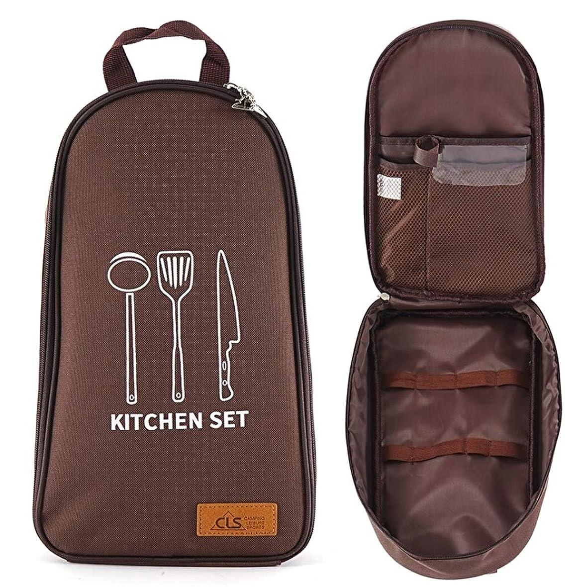 怒っているフライカイト全国[BEATONJAPAN] クッキングツール アウトドアキャンプ 調理器具 キッチンツール収納 ツールバッグ