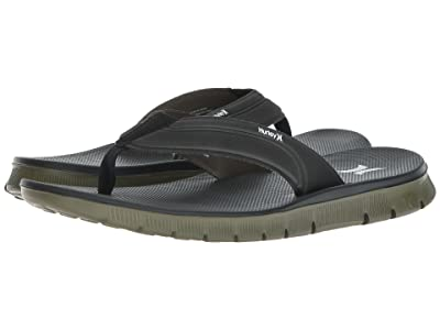 Hurley Fusion 2.0 Sandal (Black/White/Olive) Men