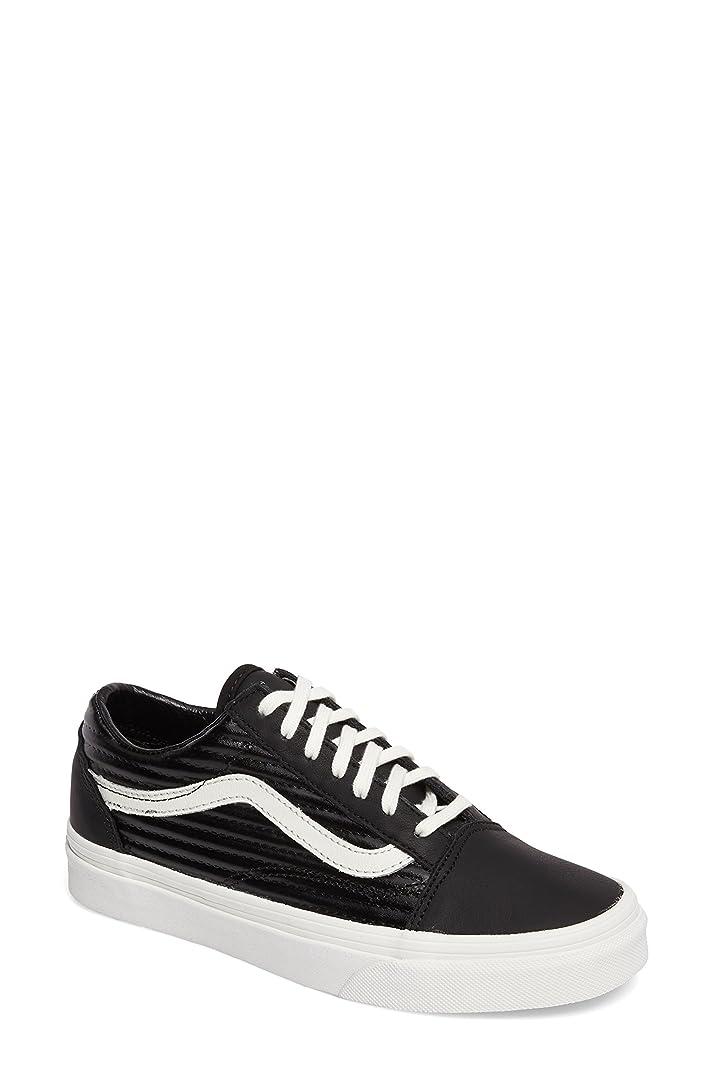 梨命題大腿バンズ シューズ スニーカー Vans Old Skool Sneaker (Women) Black/ Bla [並行輸入品]