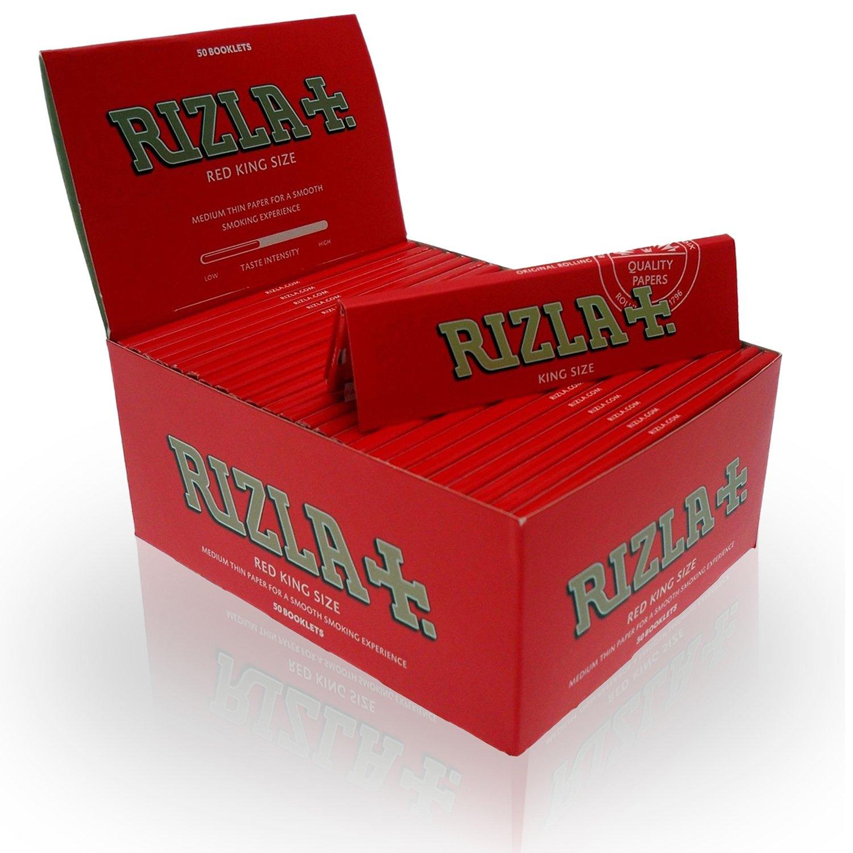 100 booklets per box *Full Box* 1 x Box Red Rizla Rolling papers