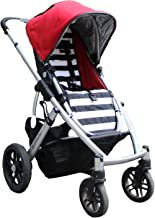 Tiny Lily Cotton Stroller Seat Liner for UPPAbaby Vista 2010-2014