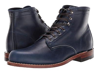 Wolverine Heritage Original 1000 Mile Boot (Blue) Men