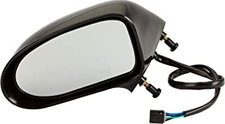 Dorman 955-1471 Driver Side Power Door Mirror - Heated for Select Buick/Oldsmobile Models, Black