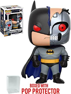 Funko Pop! DC Heroes: Batman The Animated Series - Batman Robot #193 Vinyl Figure (Bundled with Pop BOX PROTECTOR CASE)