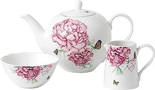 Royal Albert Miranda Kerr Everyday Friendship  White 3-Piece Set Teapot, Sugar and Creamer