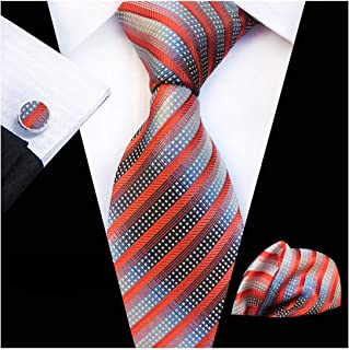 20 Style Big Flower Floral Ties For Men Fashion Men'S Tie Pocket Square Cufflinks Three Three Piece Suit
