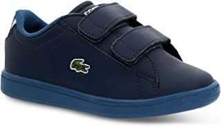 Lacoste Infant Boys Carnaby Evo Strap Trainers Sneakers in Navy