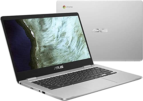 """new arrival Asus online sale Chromebook 14"""" HD outlet online sale Anti-Glare Nano-Edge Display Laptop Computer, Intel Celeron N3350 up to 2.4GHz, 4GB DDR4, 64GB eMMC Flash Memory, HD Webcam, 802.11ac, Bluetooth, USB-C, MicroSD, Chrome OS outlet sale"""
